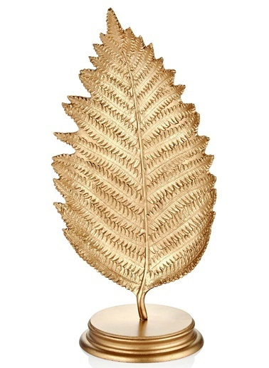 The Mia Yaprak Küçük (Standlı) Gold  Altın
